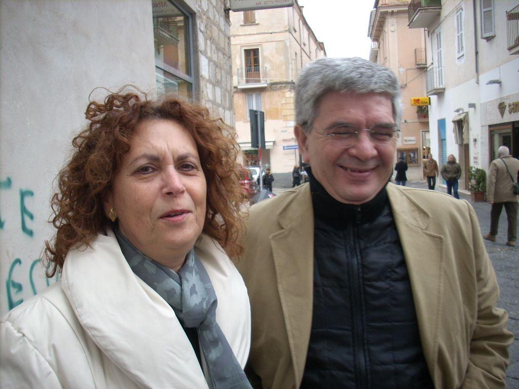 Antonino Iudicone e consorte