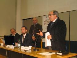 Il saluto del Sindaco del Comune di Aprilia Domenico D'Alessio