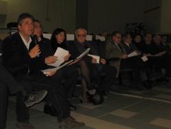 L'intervento del Sindaco del Comune di Cori Tommaso Conti, a nome anche dei Sindaci di Aprilia Cisterna e Sermoneta