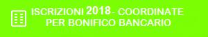 Iscrizioni 2018 - estremi pagamento