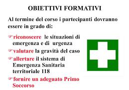 Punti di Primo Intervento: anche se diventassero presidi territoriali il personale medico dovrebbe essere selezionato nel settore  dell'Emergenza Sanitaria Territoriale delle Cure Primarie